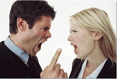 ... cuando esto se transforma en una gran tensión que acaba en conflicto