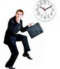 tiempo para trabajar