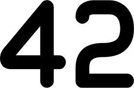 El número 42 1