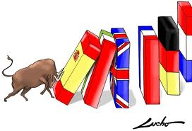 España muy tocada