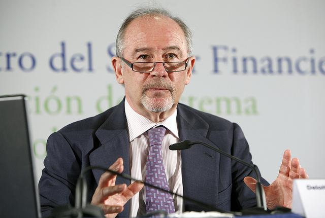 Rato ficha por el Banco Santander como asesor internacional