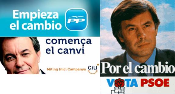 SLOGAN SOBRE EL CAMBIO
