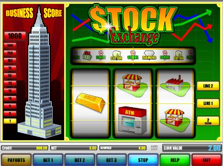 stcok exchange slot machine games