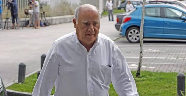 Amancio Ortega cobrará hoy 813 millones por dividendos de Inditex