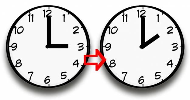 ¿Cuándo cambian la hora? Estas son las fechas hasta el 2021 1