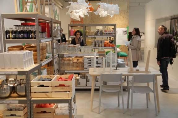ikea desembarca en el centro de las ciudades con una tienda temporal en plena umilla de orou en madrid con el objetivo de acercarse ms a sus clientes y