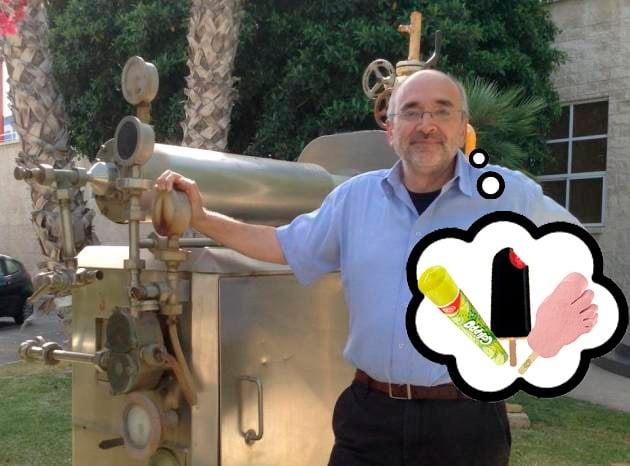 Este es el inventor del Frigo pie, el Drácula, el Calippo y el Twister