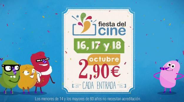 La XIII Fiesta del Cine se celebrará del 16 al 18 de octubre 1