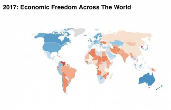 ¿Cuáles son las economías más libres del mundo? 1
