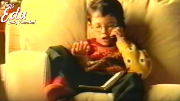 ¿Recuerdas al niño del 'Hola, soy Edu, Feliz Navidad'? Ahora está así y dirige una empresa de marketing online