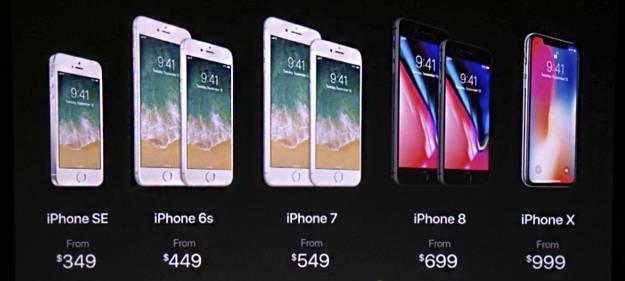 La carta de vinos, el café del Starbucks y el iPhone X de 1.329€ 3