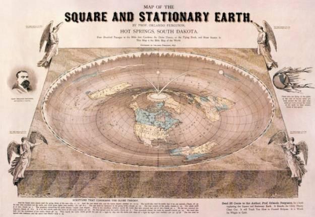 La tierra es plana y 2 es igual a 1 1