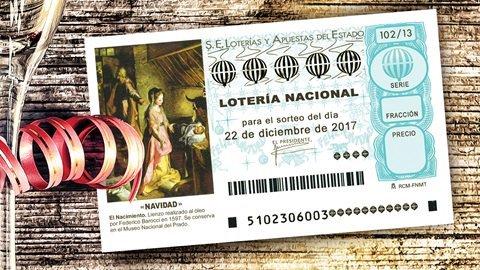 Comprueba aquí tu lotería del sorteo Navidad 2017 1