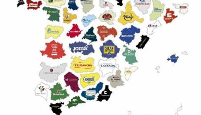 El mapa con las empresas más importantes de cada provincia