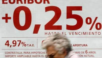 Algunos bancos realizan cambios en las hipotecas ante una eventual subida del Euríbor