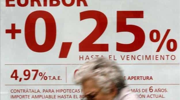 El Banco de España confirma que el Euríbor subió al -0,154% en octubre