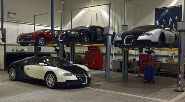¿Por qué cuesta 18.000€ cambiar el aceite a un Veyron? Hay una buena razón...