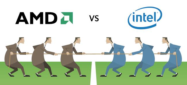 Intel Vs. AMD: la batalla que se libra por el microprocesador de tu ordenador