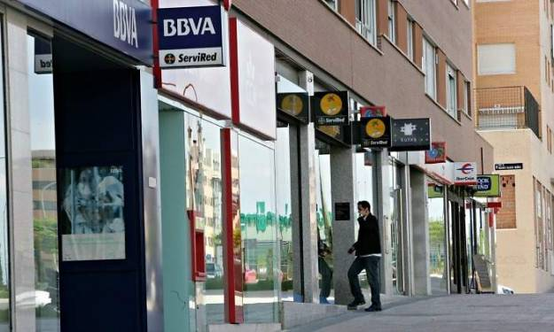 Santander bbva caixabank bankia y sabadell han cerrado m s de 560 oficinas en espa a este a o - Oficinas bankia madrid ...