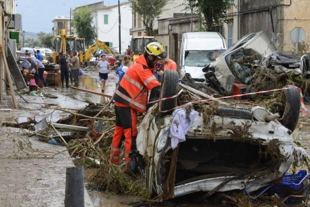 Las inundaciones en Mallorca, en imágenes y vídeos