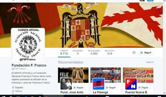 La Fundación Francisco Franco recibio 75.372€ en subvenciones en 2015