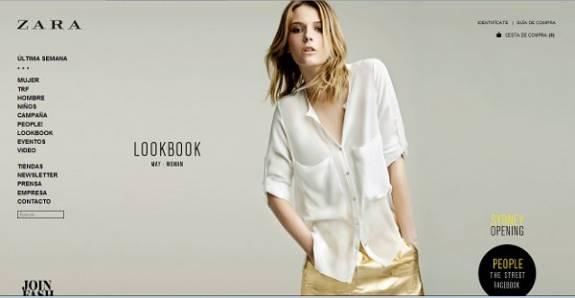 Inditex anuncia que Zara mañana abre su tienda global 'online'  y se dispara el bolsa un 5,2%