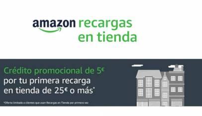 Amazon lanza un servicio de recargas en bares o kioskos para comprar en su plataforma con efectivo y sin tarjeta