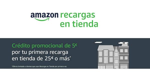 Amazon lanza un servicio de recargas en bares o kioskos para comprar en su plataforma con efectivo y sin tarjeta 1
