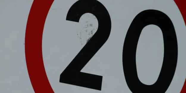La DGT propone calles de 20 km/h en las ciudades