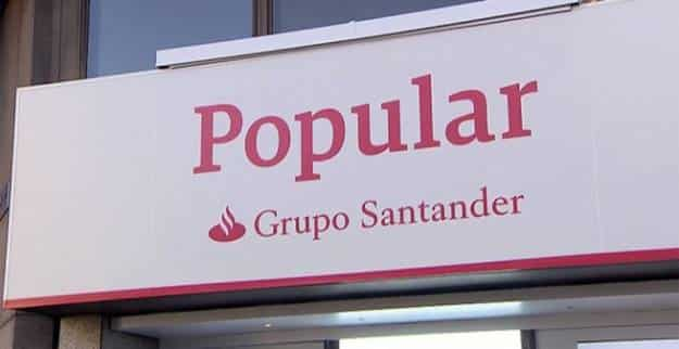 La Justicia anula la compra de 500.000 euros en acciones del Popular por parte de una sociedad de inversión