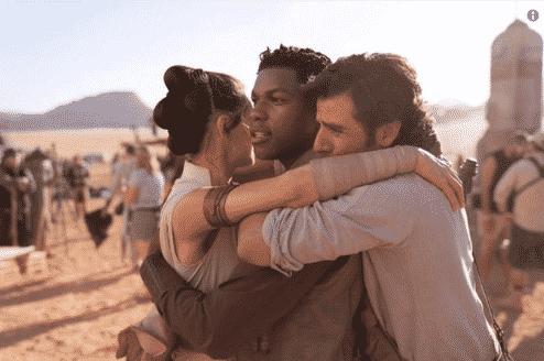 J.J. Abrams confirma el fin del rodaje de Star Wars 9 y nos regala una imagen