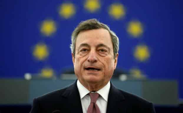 A Mario Draghi le entrevistan en el Financial Times y dice cosas muy interesantes