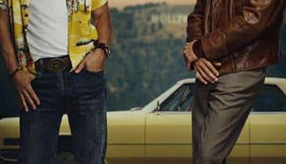 Ya tenemos el poster de la próxima peli de Tarantino con Leonardo DiCaprio y Brad Pitt