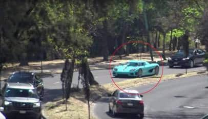 Uno de los autos más exóticos y caros del mundo, el Koenigsegg CCXR Special One termina destrozado