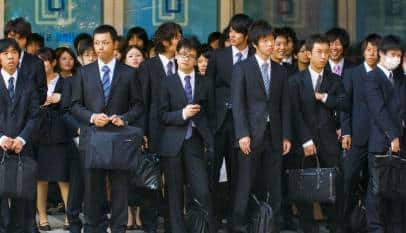 """Los japoneses se indignan al considerar """"demasiados"""" 10 días de vacaciones"""
