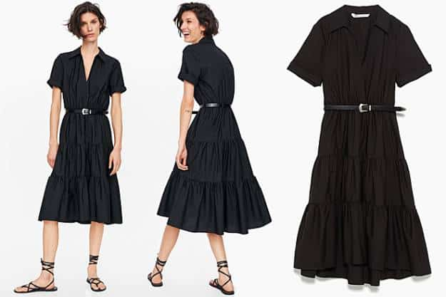 90c273f37b Zara lanza un vestido que te hace una talla más delgada