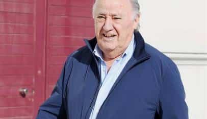 Amancio Ortega ingresa hoy 813 millones por dividendo de Inditex