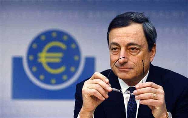Según S&P Draghi se despedirá del BCE recortando tipos