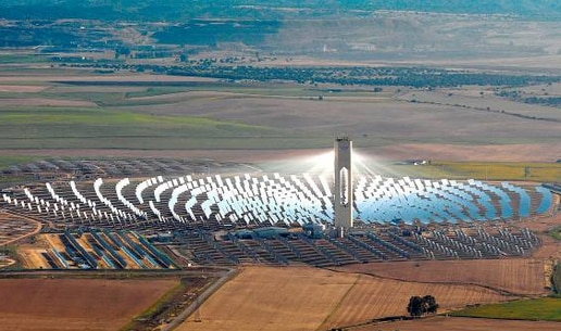 La energía termosolar marca récord histórico de generación eléctrica