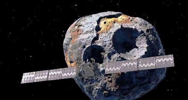 Hay un asteroide de oro y platino que podría hacernos multimillonarios a todos... o no...