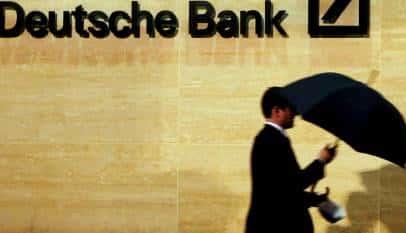 Deutsche Bank y el riesgo de los tipos de interés negativos
