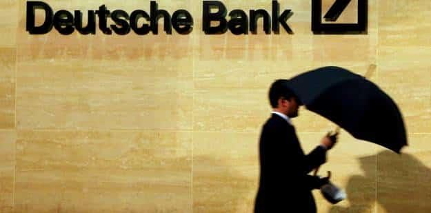 Deutsche Bank y el riesgo de los tipos de interés negativos 1