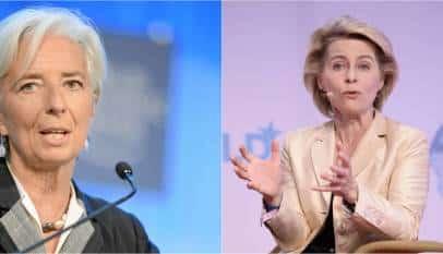 Europa apuesta por la continuidad en sus políticas con  Christine Lagarde y Ursula von der Leyen