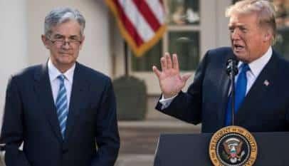 Trump acusa a la FED de poner a EEUU en desventaja frente a otros países