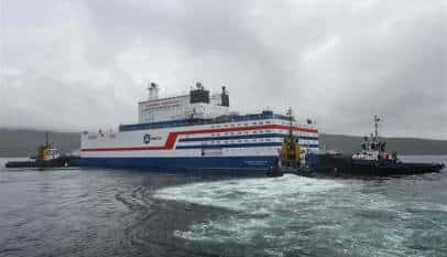 Llega al Ártico la primera central nuclear flotante rusa