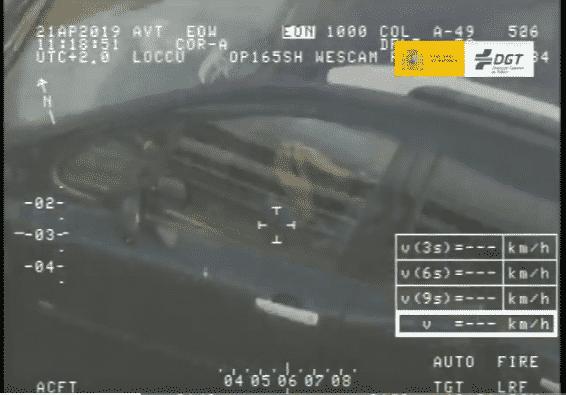 """Este es la mayor """"cazada"""" que ha hecho el helicóptero """"Pegasus"""" de la DGT"""