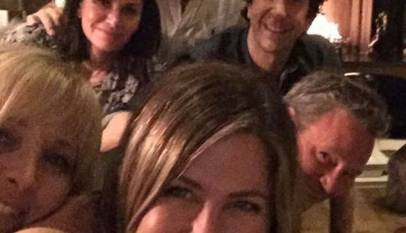 Los protagonistas de Friends se reúnen 15 años después