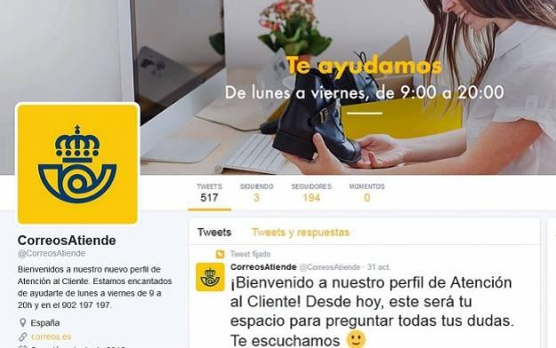 Hackean la cuenta de Twitter de Correos y anuncian que repartirán droga