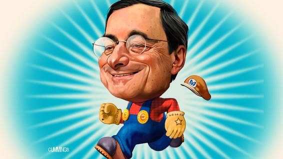 El adiós a Mario Draghi con 15 datos y una poesía