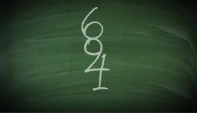¿Cuántos números hay en esta imagen?